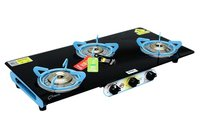 3 BURNER AERO BLACK BLUE