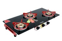 3 BURNER AERO BLACK RED