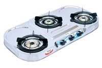 3 BURNER PLUS DIP TRAY