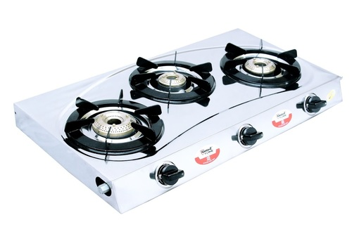 3 BURNER SMART RAINBOW BLACK
