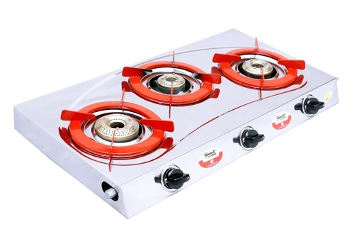 3 BURNER SMART RAINBOW RED