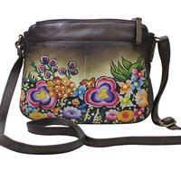 Women Hand Painted Sling Bag