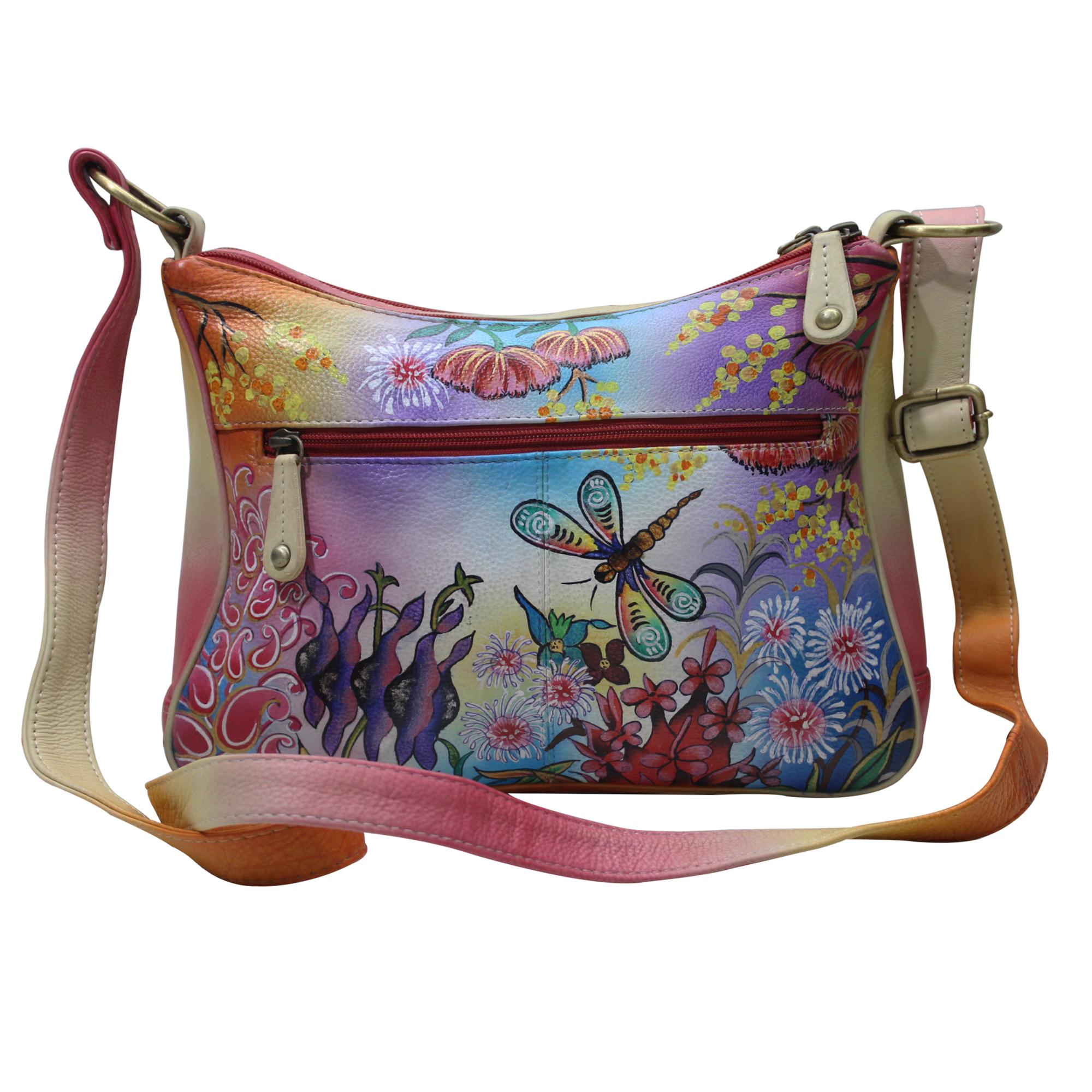 Women Hand Painted Shoulder Bag