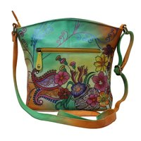 Hand Painted Designer Shoulder Bag