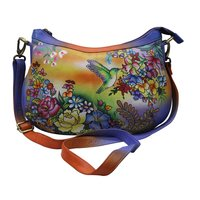 Women Hand Painted Sling Bag Stylish Shoulder Cross Body Bag