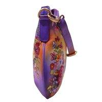 Women Hand Painted Sling Bag Stylish Shoulder Cross Body Bag