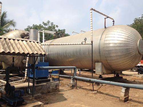 CO2 Gas Storage Tank