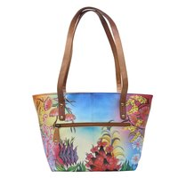 Women Hand Painted Tote