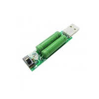 Usb Mini Discharge Load Resistor 2a-1a With Switch 1a Green Led, 2a Red Led