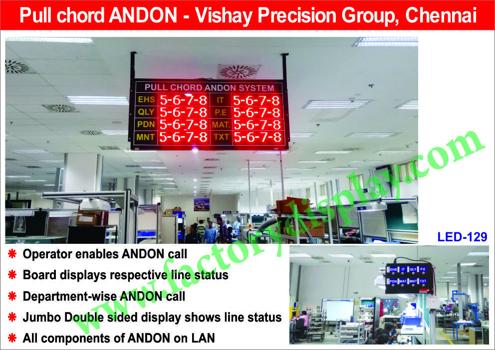 Andon Calling System