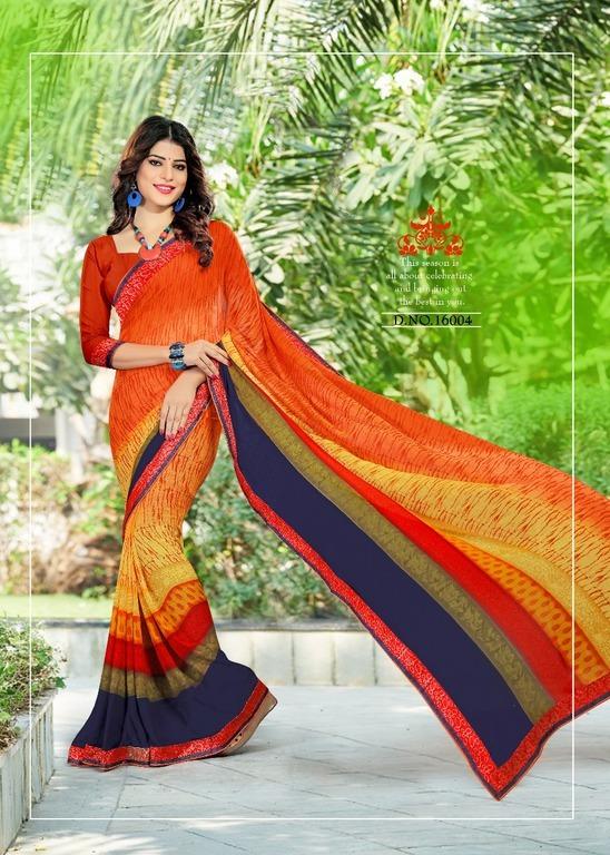 Buy Printed Sarees Online
