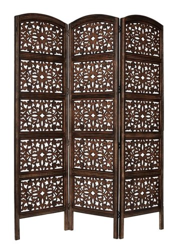 Wooden Room Divider / Wood Separator / Office Furniture / Wooden Partitions