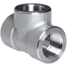 Stainless Steel Socket Weld Tee Fittings