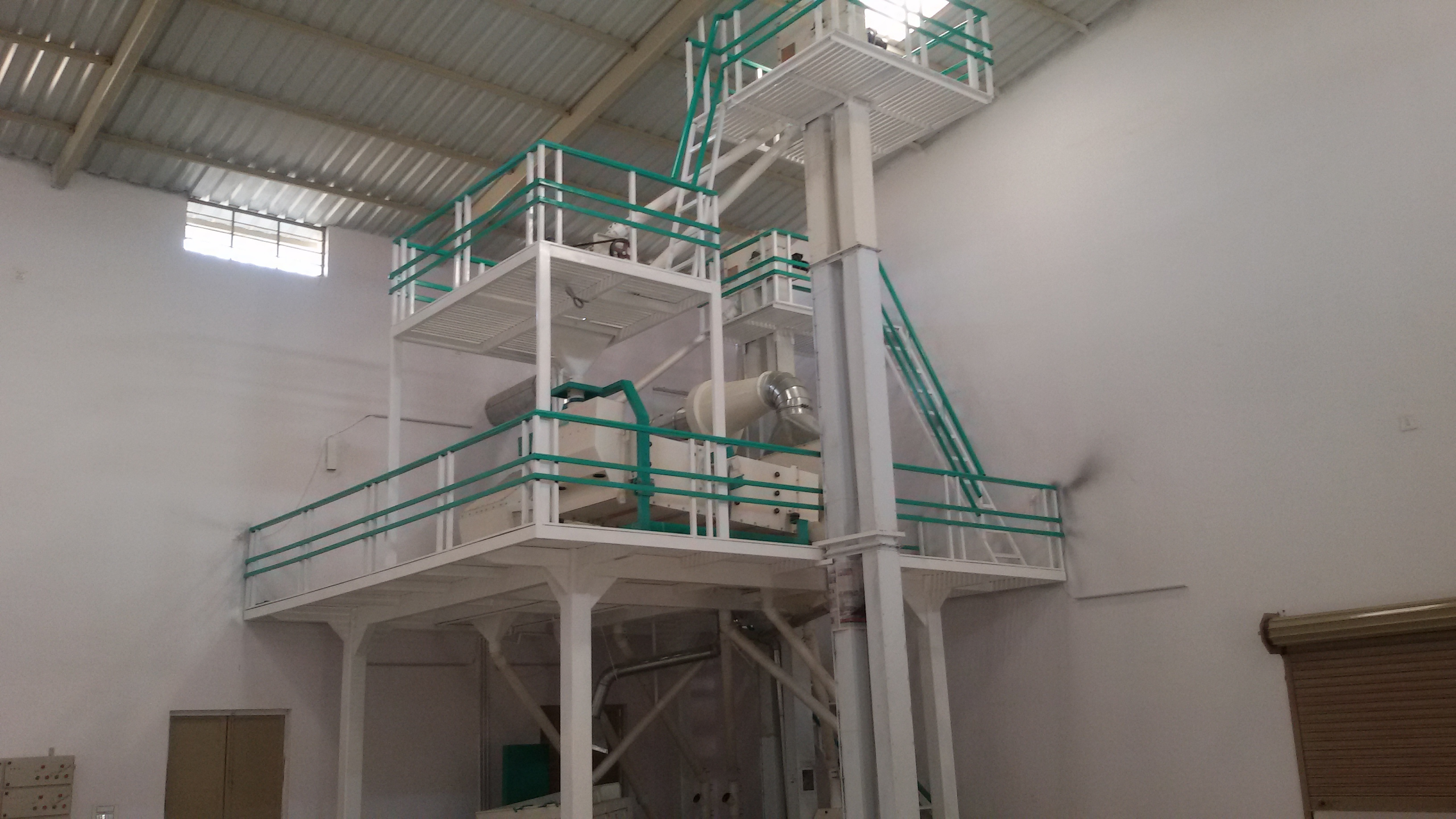 Cumin seed cleaning Plant