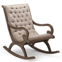 Cushion Rocking Chair Aaram Chair Wooden Rocking Chair For Living Room Home Decor