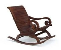 Aamazing Hand Carved Rocking Chair