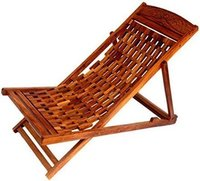 Garden Folding Wooden Chair (Brown)