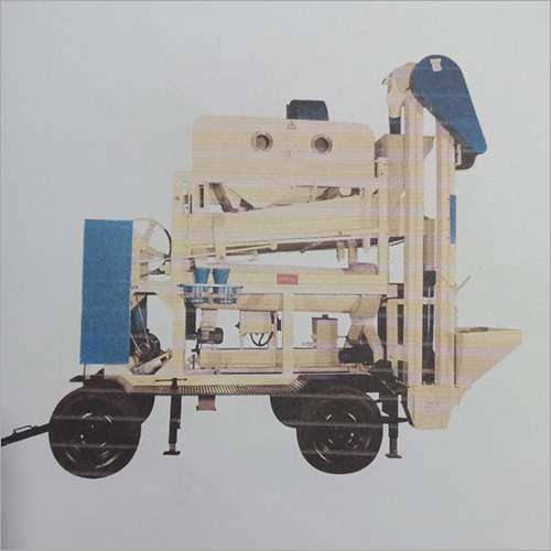 Cleaning Plant on Trolley