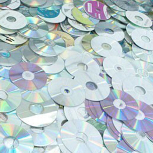 Polycarbonate (PC) CD Disk Non-Metalize