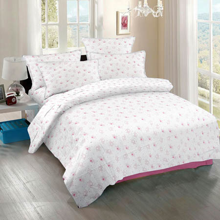 Light Printed Bedsheet