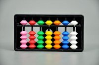 Multicolour Student Abacus 7 Rod