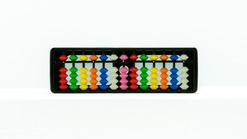 13 Rods Multi Color Abacus