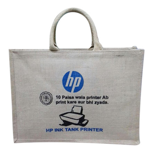 Designer Print Jute Bag