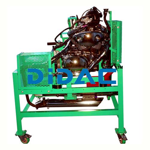 1/2 Cylinder Carburettor Engine