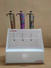 3 Bio Designer Micropipettes with one 6 Hole Stand