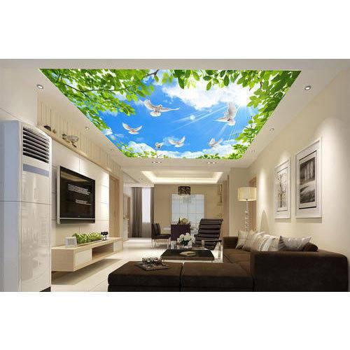 Decorative Ceiling Wallpaper