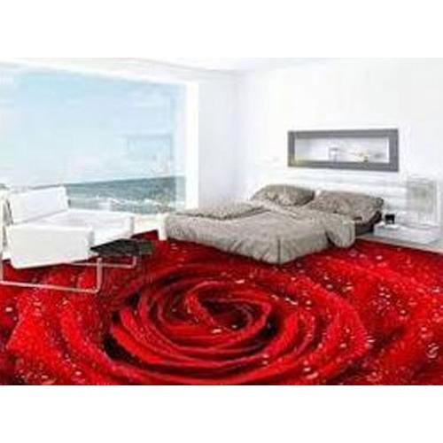 3D Bedroom Epoxy Flooring