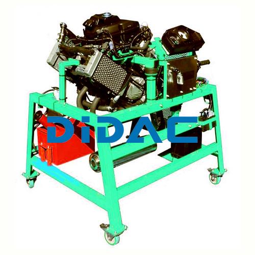 4 Cylinder Carburetor Engine
