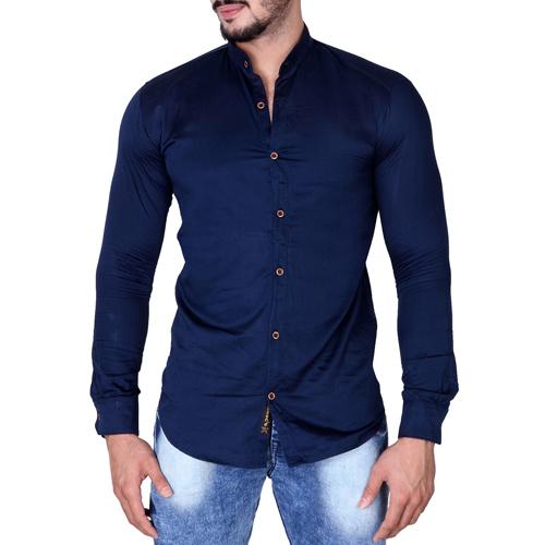 Cotton Blend Casual Shirt