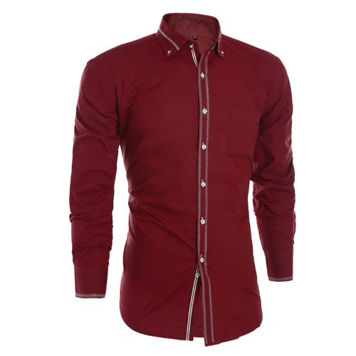 Men's Red Shirts