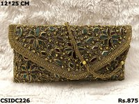Beaded Embroidery Clutch