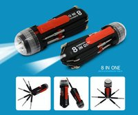 8 In 1 Multi Screwdriver Torch