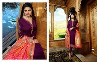 Women Wedding Wear Banarasi Silk Designer Salwar Suit