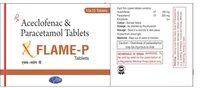 Aceclofenac 100mg + Paracetamol 325mg