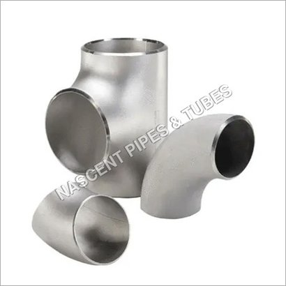 Silver Stainless Steel Butt Weld Fitting 904L