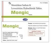 Levocitrizine 5mg + Montelukast Sodium 10mg