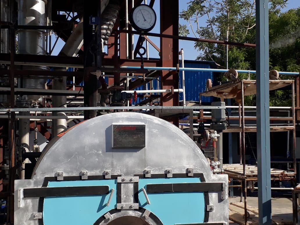 Oil Fired Steam Boiler
