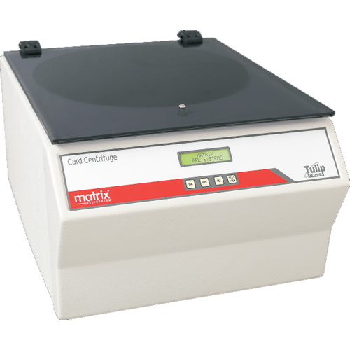 Matrix Gel System Card Centrifuge