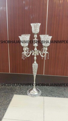 Crystal Designer Wedding Centerpieces