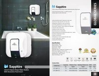 Kalptree - Sapphire 15 Lires - Electric Water Heater / Geyser (With Galssline & Incoloy Element)