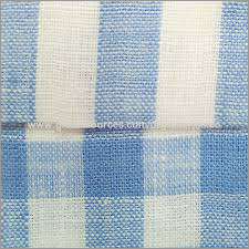 Light Blue Cotton Linen Fabric