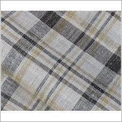 Linen Check Fabric