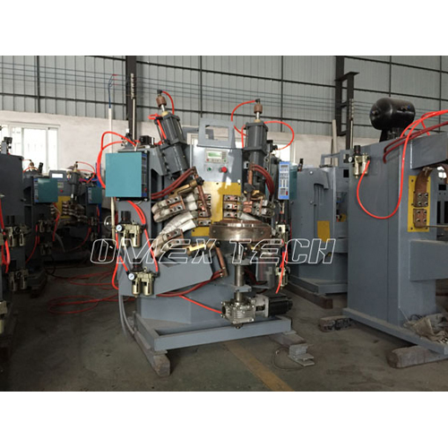 Double Middle Ring Welding Machine