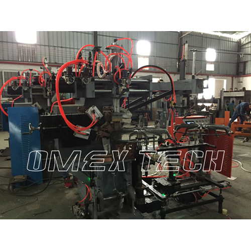 Automatic Looping and Welding Machine For Spiral Fan Guards