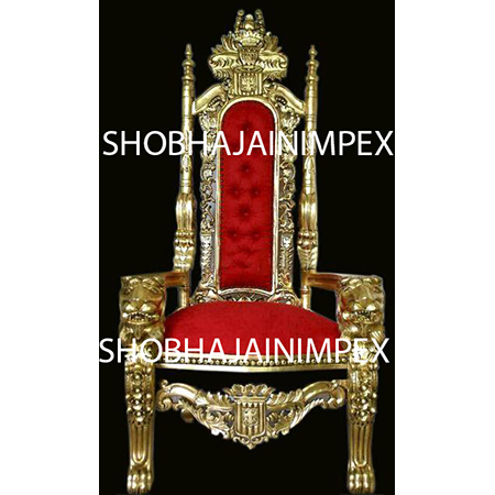Red Wedding Mandap Chair
