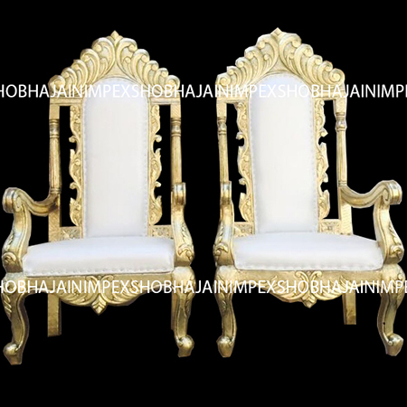 WEDDING MANDAP CHAIR AND BAJOTS